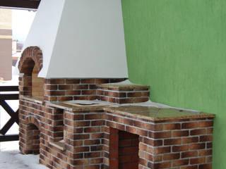 Balcones y terrazas de estilo moderno de Студия архитектуры и дизайна Вояджи Дарьи Moderno