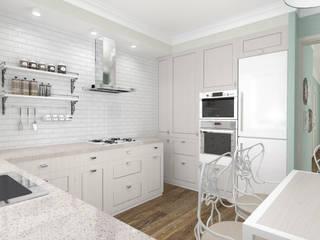 Keuken door Студия архитектуры и дизайна Вояджи Дарьи