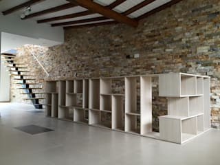 Living room by ALSE Taller de Arquitectura y Diseño, Modern