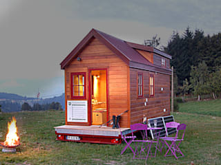 Eclectic style houses by TINY HOUSE CONCEPT - BERARD FREDERIC Eclectic