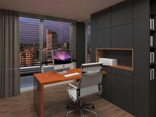 Modern Study Room and Home Office by .Villa arquitetura e algo mais Modern