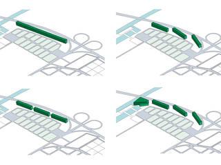 Esquemas preliminares:  de estilo  por A3 estudio arquitectura