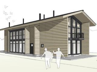 Дом в Саранске: Дома в . Автор – artemuma - архитектурное бюро