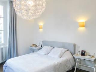 chambre Chambre moderne par Quitterie Chailley Moderne