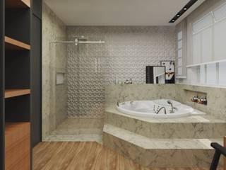 Bathroom by .Villa arquitetura e algo mais,