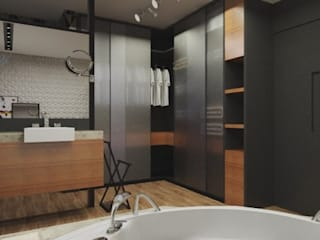 Modern Giyinme Odası .Villa arquitetura e algo mais Modern