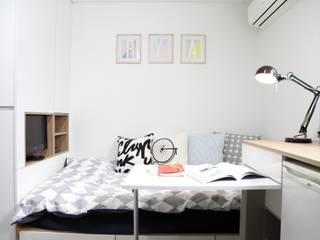 마이크로하우스 리모델링 Dormitorios de estilo moderno de OUA 오유에이 Moderno
