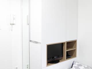 마이크로하우스 리모델링 Moderne Schlafzimmer von OUA 오유에이 Modern