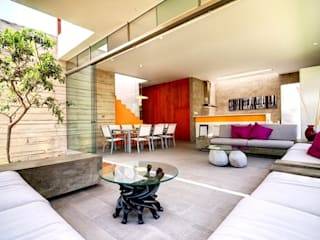 Casa Seta Martin Dulanto ห้องนั่งเล่น