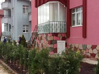 Çalışmalarımız Modern Bahçe Cemre Fidancılık Peyzaj ve Ahşap Yapı Modern