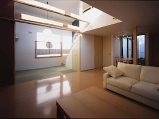 株式会社横山浩介建築設計事務所의  거실