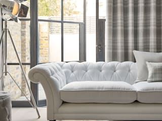 City Dwelling - Primavera Verano 2016 Laura Ashley Decoración Salones de estilo industrial Gris
