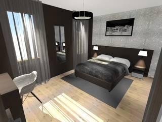 Dossier chambre! Chambre moderne par Concepteur Designer d'Espace - Cyril DARD Moderne