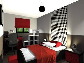 Dossier chambre! Chambre d'enfant moderne par Concepteur Designer d'Espace - Cyril DARD Moderne