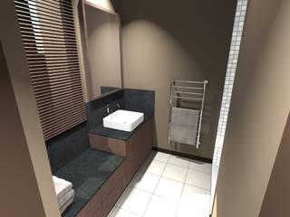 Dossier Salles de bain! Salle de bain moderne par Concepteur Designer d'Espace - Cyril DARD Moderne