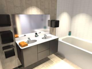 Dossier Salles de bain! Salle de bain classique par Concepteur Designer d'Espace - Cyril DARD Classique