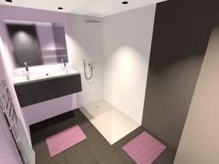 Baños de estilo minimalista por Concepteur Designer d'Espace - Cyril DARD