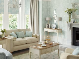 Salas de estar clássicas por Laura Ashley Decoración Clássico