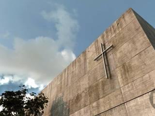 RENDERS Iglesia de la luz de FOCO