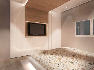Rochene Floors Camera da letto moderna