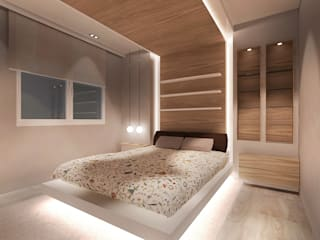 Rochene Floors Modern style bedroom