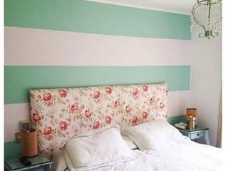 Murales para el Hogar: Dormitorios de estilo  por Estudio Desigual