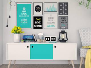Twój Home Stager: styl , w kategorii  zaprojektowany przez KINGDOM Home Staging