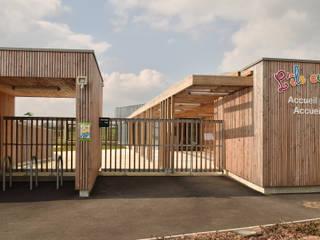 L'Ile aux enfants, pôle enfance de Séverac (44): Ecoles de style  par Atelier du lieu