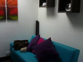 Salon moderne par La Carpinteria - Mobiliario Comercial Moderne