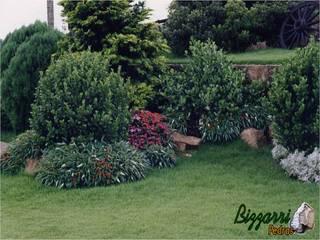 Bizzarri Pedras Jardines de estilo rústico