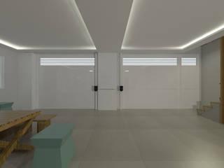 Residência DL Garagens e edículas modernas por Claudia Dias Arquitetura Moderno
