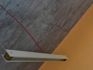 Lineal - Lampara de Colgar LED:  de estilo  por Estudio Indo