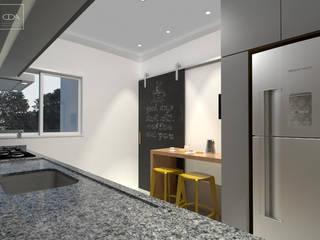 Cozinha AL Cozinhas modernas por Claudia Dias Arquitetura Moderno