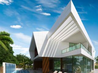 RESIDÊNCIA EM ANGOLA Casas modernas por Arquitetos Brasil Moderno