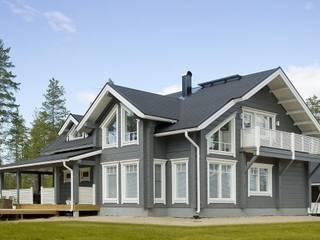Maison en bois:  de style  par sarl confoertenbois