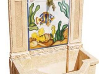 Fuentes decorativas para el Jardín de Piedra Artificial Balaustres Martinez Clásico