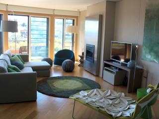São Jerónimo Salas de estar modernas por Consigo Interiores Moderno