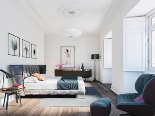 Modern style bedroom by Berga&Gonzalez - arquitectura y render Modern