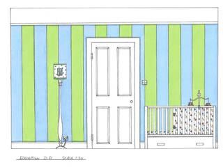 Nursery Modern nursery/kids room by L M B INTERIORS Modern