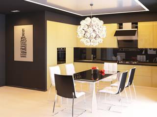 Квартира в Москве: Кухни в . Автор – Ин-дизайн