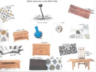 Log Cabin: rustic  by L M B INTERIORS, Rustic
