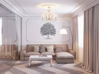 Квартира в Подольске: Гостиная в . Автор – Ин-дизайн