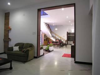 Living room Ansari Architects Modern living room