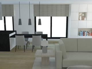 Ouverture Du Salon : Salon De Style De Style Scandinave Par ARCHI DEKO