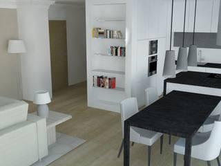 Appartement Rémois Cuisine scandinave par ARCHI DEKO Scandinave