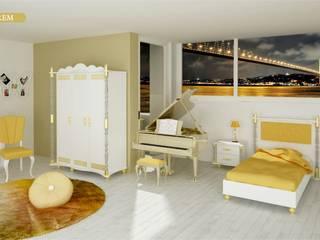 Hurem Teenager Bedroom Woody Modular Furnitures by Aga Orman Urunleri Ltd. Asyatik