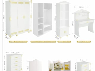 Woody Modular Furnitures by Aga Orman Urunleri Ltd. – Hurem Teenager Bedroom :  tarz