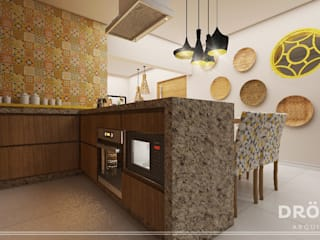 Cocinas de estilo moderno de Drömma Arquitetura Moderno