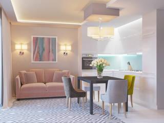 Квартира в Туле: Кухни в . Автор – Ин-дизайн