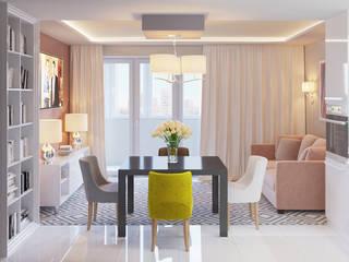 Квартира в Туле: Гостиная в . Автор – Ин-дизайн